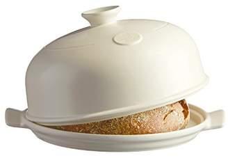 Emile Henry Ceramic Bread Mould (33.5 x 28.5 x 16.5 cm), Ceramic, linen, 34 x 34 x 16,5 cm