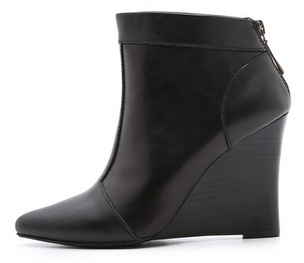 Nanette Lepore Intoxicating Wedge Booties