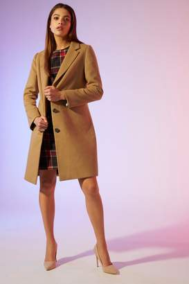 Next Womens Yumi Crombie Coat