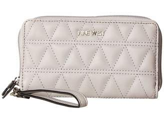 Nine West Sylvia SLG Tech Wallet Wallet Handbags