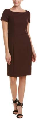 Reiss Atlee Tailored Wool-Blend Shift Dress
