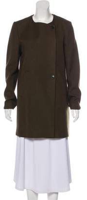 Theory Virgin Wool-Blend Short Coat