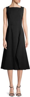 Jason Wu Square Neck A-Line Dress