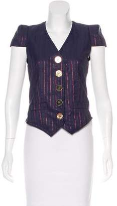 Marc Jacobs Structured Short Sleeve Jacket w/ Tags