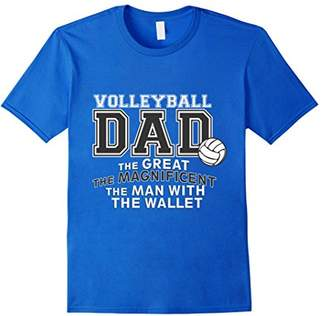Men's Volleyball Apparel - Volleyball dad t-shirt
