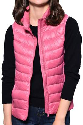 Factory CHERRY CHICK Women's Ultralight Packable Down Vest (M, )