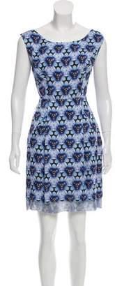Acne Studios Printed Mini Dress