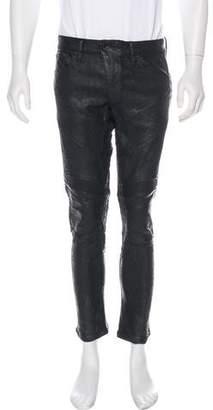Ralph Lauren Black Label Coated Skinny Jeans