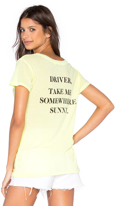 Wildfox Couture Take Me Somewhere Tee $64 thestylecure.com