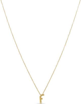 Maje 'F' pendant necklace