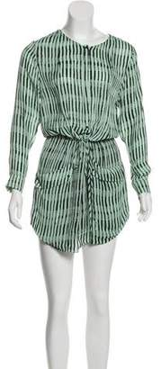 A.L.C. Simona Silk Mini Dress