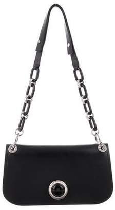 Michael Kors Leather Chain-Link Shoulder Bag