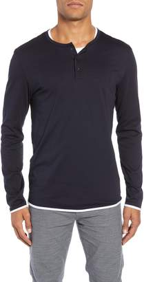 BOSS Textor Layered Regular Fit Henley
