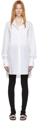 Ann Demeulemeester White Cotton Shirt