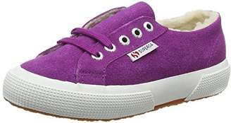 Superga Unisex Kids' 2750 Suebinj Low-Top Sneakers (X43 Violet Purple), 11 Child UK EU