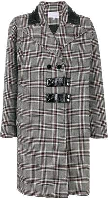 Carven houndstooth pattern coat