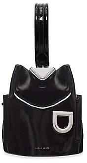 Danse Lente Women's Josh One-Shoulder Patent Leather Bucket Bag
