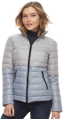 Women's Halitech Colorblock Packable Puffer Jacket