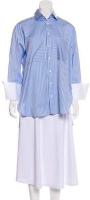 Palmer Harding palmer//harding Long Sleeve Button-Up Top w/ Tags