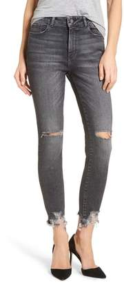 DL1961 Farrow Ripped Ankle Jeans