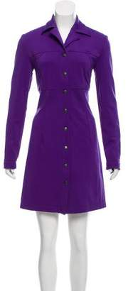 Anna Sui Collared Mini Dress
