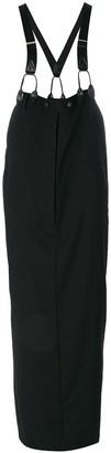 Jean Paul Gaultier Pre-Owned long skirt with suspenders