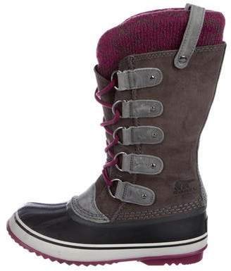 f42f17473d6 Lace Up Snow Boots - ShopStyle