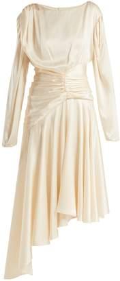 Preen by Thornton Bregazzi Amber silk-satin midi dress