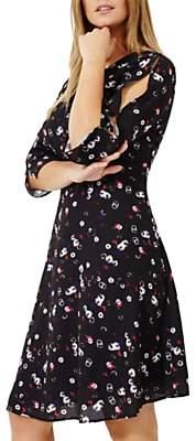 Studio 8 Emmy Floral Print Dress, Black/Multi