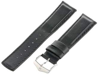 Hirsch 22mm Leather Watch Strap