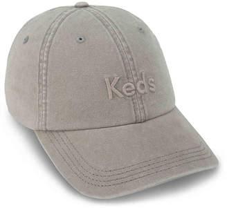Keds Heavy Washed Brushed Baseball Cap - Women's