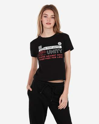 Express Unity Graphic Easy Tee