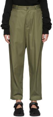 Y's Ys Khaki Sarouel Pants