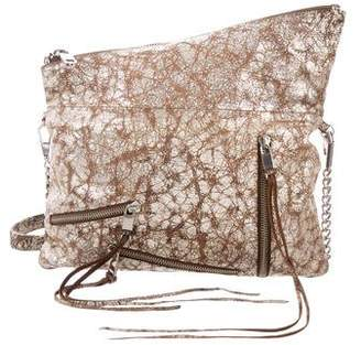 Rebecca Minkoff Metallic Leather Clutch