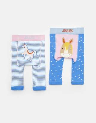 Joules Clothing Lively Two Pack Character Leggings
