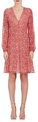 Derek Lam WOMEN'S FLORAL SILK CRÊPE DRESS