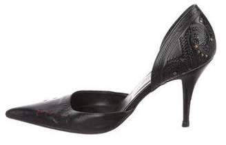 Barbara Bui Leather d'Orsay Pumps