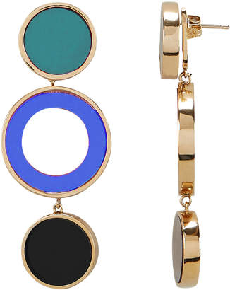Colette Malouf Reflection Blue Earrings