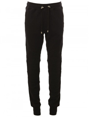 Balmain drawstring skinny track pants $830 thestylecure.com