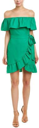Dee Elly Ruffle A-Line Dress