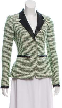 Balenciaga Structured Tweed Blazer