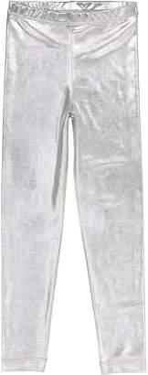 Masala Baby Silver Metallic Leggings