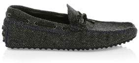 Tod's Gommini Wool Loafers