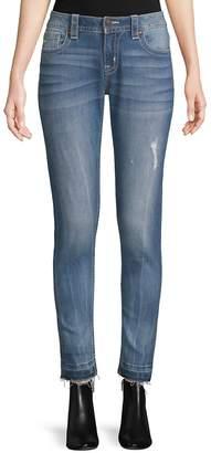 Miss Me Women's Five-Pocket Mid-Rise Jeans