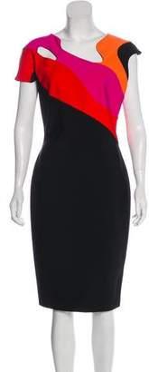 Thierry Mugler Stretch Midi Dress