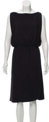 Balenciaga Sleeveless Gathered Dress