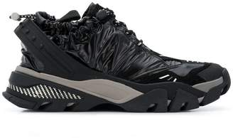 Calvin Klein ruched sporty sneakers