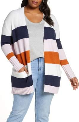Caslon Stripe Cardigan