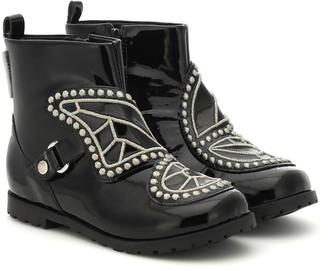 Sophia Webster Mini Karina leather ankle boots