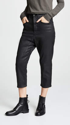Rick Owens Collapse Cut Jeans